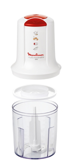 Moulinex Hachoir Multi-Moulinette 3 en 1 + Batteur AT710131
