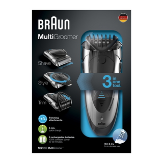 Braun Bodygroomer Wet & Dry MG5090