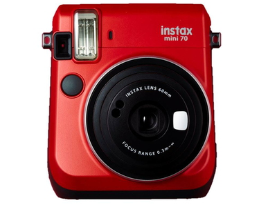 Fuji  instax Mini 70 Rouge