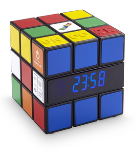 RR80RUBIKS - Interactive Radio Réveil portable Multicolore