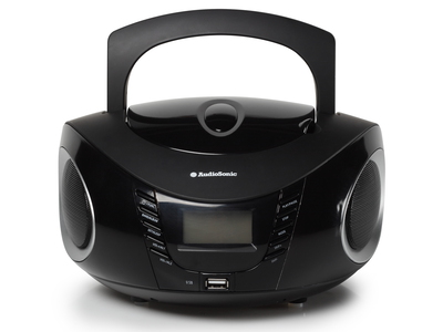 Audiosonic CD-1594 Numérique 6W Noir radio CD