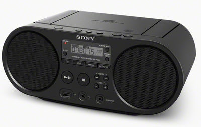 Sony ZS-PS50 Radio Cd Portable - Noir