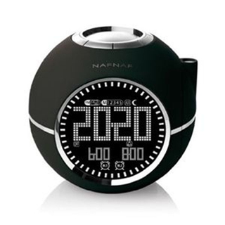Sunstech CLOCKINE Radio-réveil - Noir