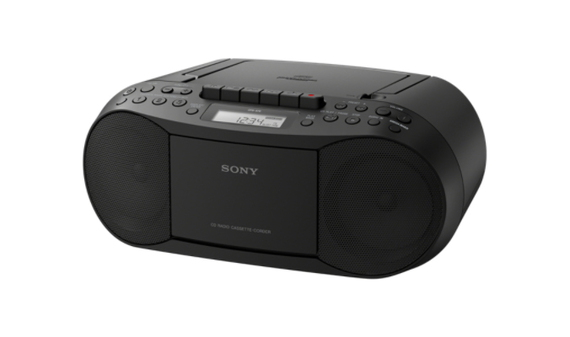 Sony CFD-S70 Personal CD player Zwart Radio
