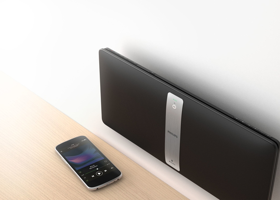 Philips BM50B/10 Wifi Speaker - Zwart