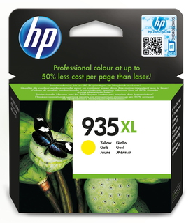 HP HP 935XL originele high-capacity gele inktcartridge