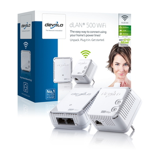 dLAN 500 WiFi Ethernet Kit