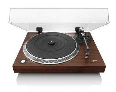 L-90 Belt-drive audio turntable Bois platine