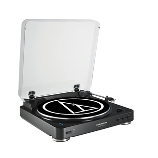 Audio-Technica AT-LP60BT Belt-drive audio turntable Noir
