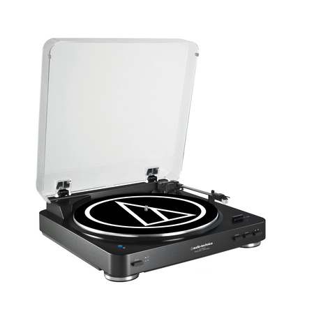 Audio Technica AT-LP60BT Tourne-Disque Noir