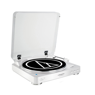 Audio Technica Audio-Technica AT-LP60BT Belt-drive audio turntable Blanc