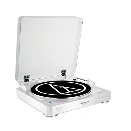 Audio Technica Audio-Technica AT-LP60BT Belt-drive audio turntable Wit