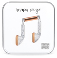 Happy Plugs Earbud Oortjes - Wit marble