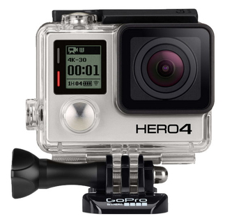HERO4 Black 12MP Full HD Wifi 88g caméra pour sports d'action