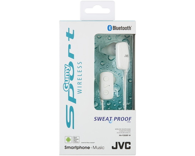JVC HA-F250BT-WE Sport Bluetooth écouteurs - Blanc