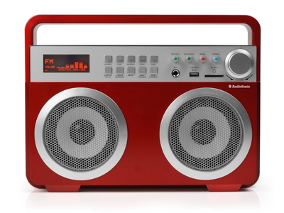 Audiosonic RD-1558 Portable Rouge Radio portable