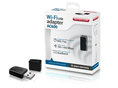 Sitecom WLA-3100 AC600 Wi-Fi Dual-band USB Adapter