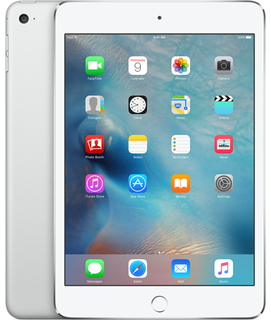 Apple iPad mini 4 128 GB Wi-Fi + LTE Zilver