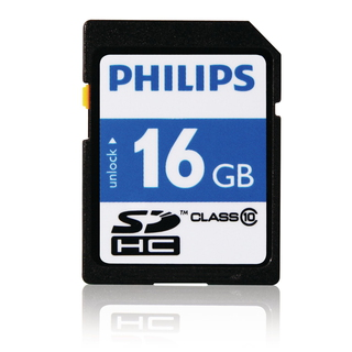 Philips Cartes SD FM16SD45B/10