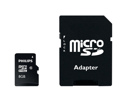 Philips Cartes Micro SD FM08MP45B/10