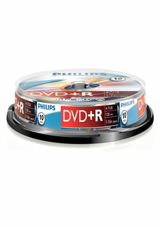 Philips Philips DVD+R DR4S6B10F/00