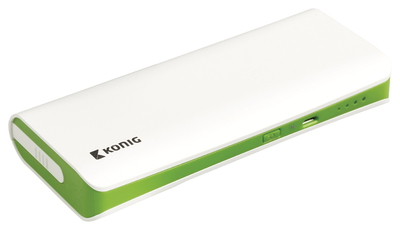 Powerbank - 15.000 mAh - Groen