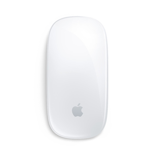 Apple Magic mouse 2 Bluetooth Ambidextre Argent, Blanc souris