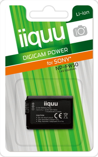 iiquu DSO015 Lithium-Ion 850mAh 7.4V batterie rechargeable