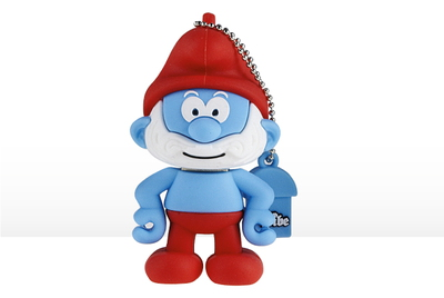 Tribe Tribe 8GB USB 2.0 8GB USB 2.0 Type-A Blauw, Rood USB flash drive