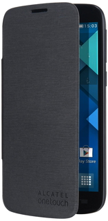 Alcatel Flip case Zwart