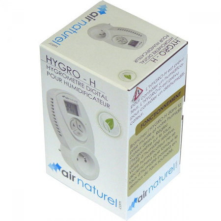 Air Naturel Hygrostaat HYGRO-Н Wit