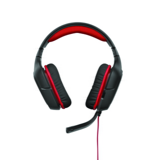 Logitech G230 Binaural Bandeau Noir, Rouge Casque audio