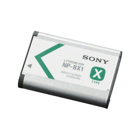 Sony Batterie Lithium ion rechargeable NP-BX1 - Type X - 1240 mAh