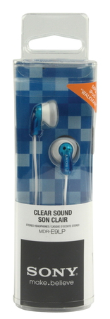 Sony MDR-E9LP Oortjes - Wit/Blauw