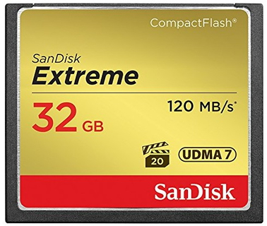Sandisk Sandisk 32GB Extreme 32Go CompactFlash mémoire flash