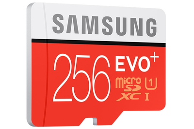 Samsung EVO Plus MB-MC256D 256Go MicroSDXC UHS-I Classe 10 mémoire flash