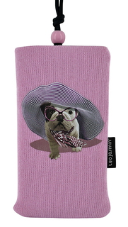 "BigBen Housse de protection universelle - TJCROISETTESOCK 4"" Rose"