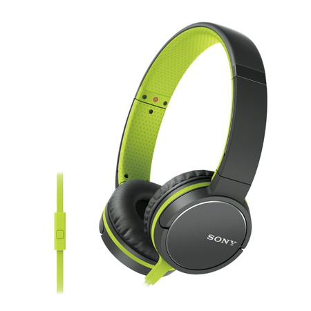 Sony MDR-ZX660AP Casque - Noir