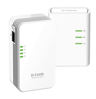 D-Link PowerLine AV 500 Ethernet/WLAN 500Mbit/s netwerkkaart & -adapter