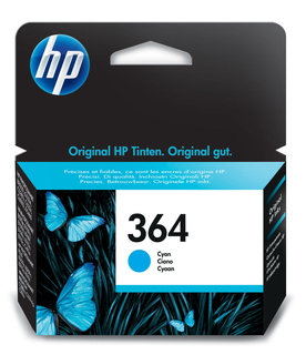 HP 364 cyaan inktcartridge
