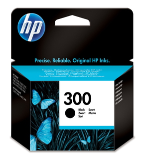HP 300 zwarte inktcartridge