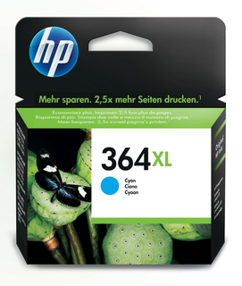 HP 364XL high-capacity cyaan inktcartridge