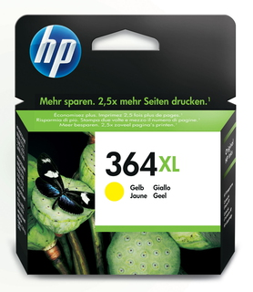 HP 364XL high-capacity gele inktcartridge