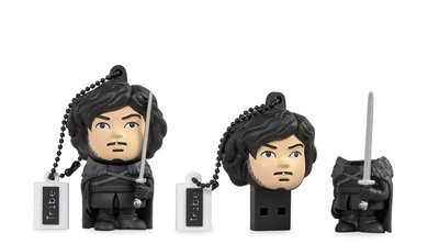 Tribe Tribe 16GB Game of Thrones Jon Snow 16Go USB 2.0 Type A Noir lecteur USB flash