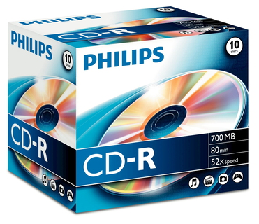 Philips CD-R CR7D5NJ10/00