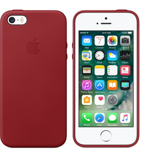 "Apple 4"" Skin-hoes Rood"