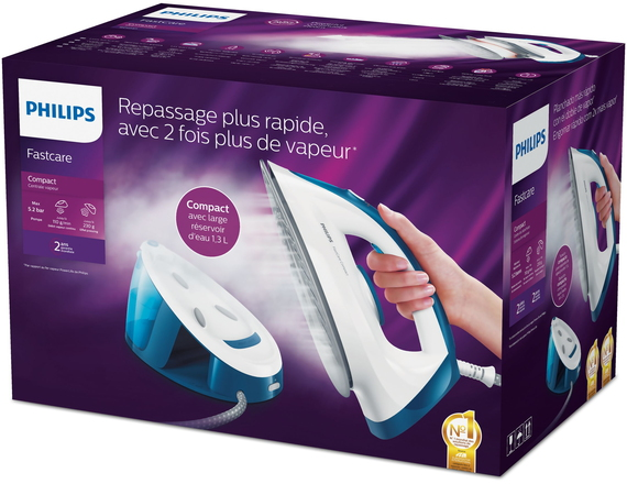 Philips Fer à repasser XL FastCare GC6733/20