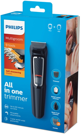 Philips Baardtrimmer Series 3000 MG3740/15