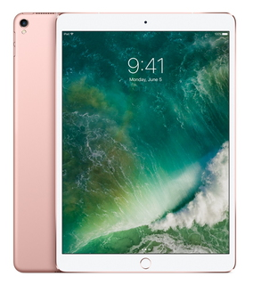 "Apple iPad Pro 10,5"" Retina 64 Go Wi-Fi + LTE Or Rose"