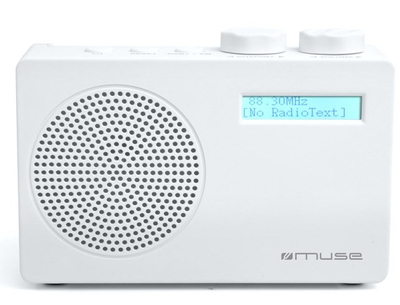 Muse M-100 DW DAB+ Radio - Wit